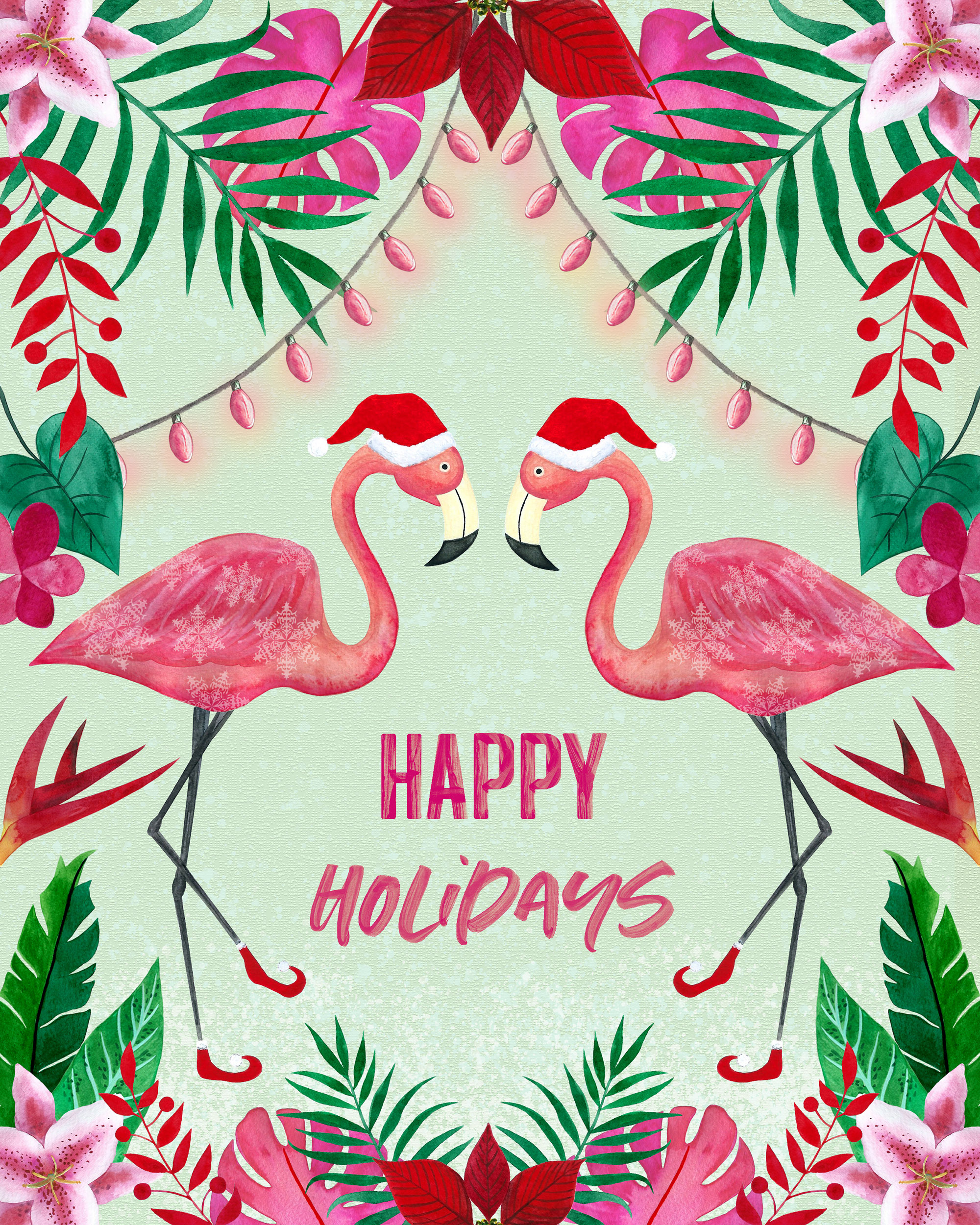 Tropical Christmas.Tropical Christmas Chloe Honore Designs